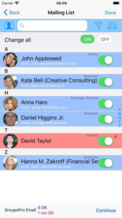 GroupsPro screenshot-3