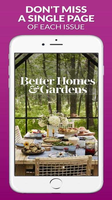 Better Homes and Gardens Screenshot