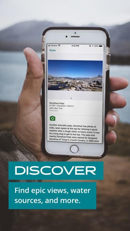 Guthook Guides: Hike Offline screenshot-3
