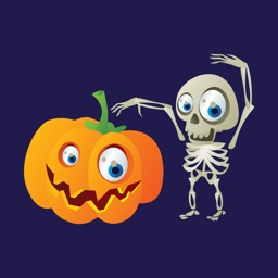 Halloween Zombie Stickers Emo