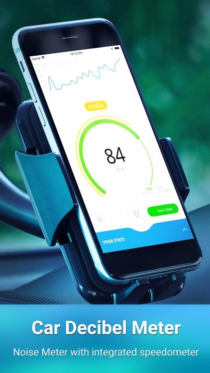 Car Decibel Sound Level Meter