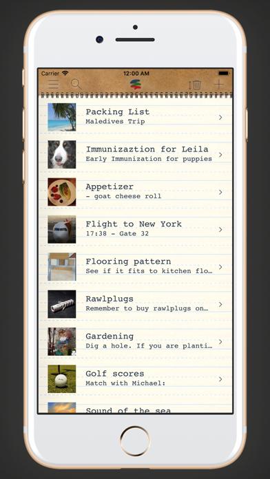 memono Notizen + TagebuchScreenshot von 5