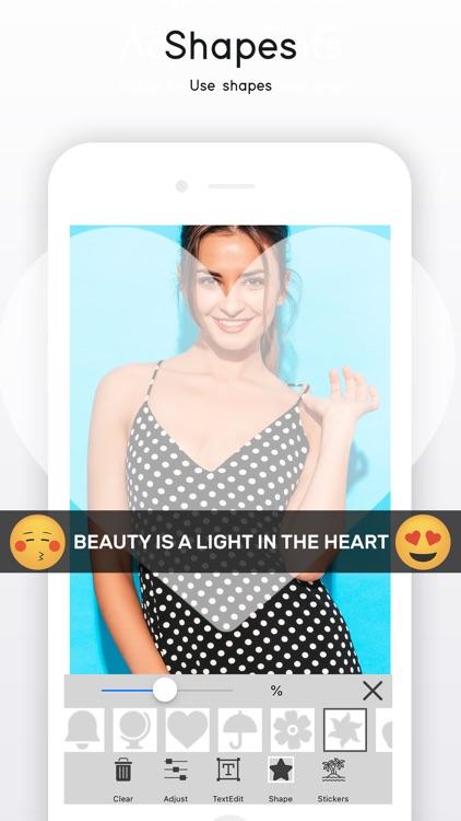 Square Shape Snap Pic screenshot-5