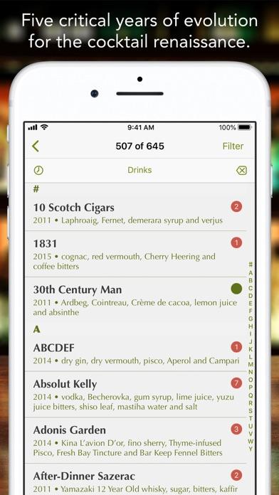 101 Best New Cocktails Screenshot