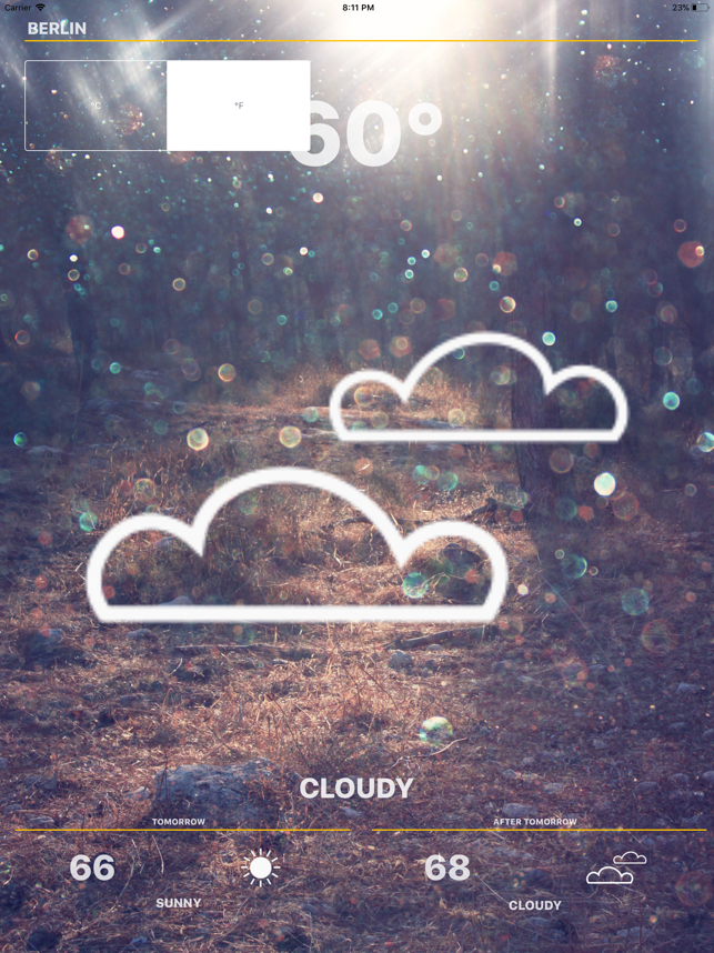 ‎Weather - Global Forecast Screenshot