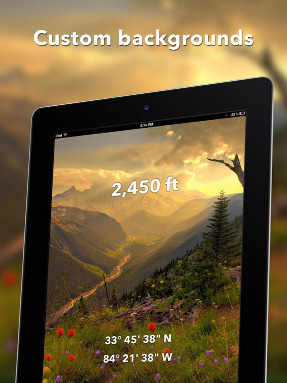Travel Altimeter Lite - GPS Altitude & Map Elevation screenshot