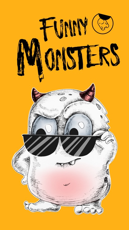 Beautiful Monsters - Stickers