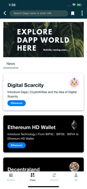 Dapp Pocket on the App Store