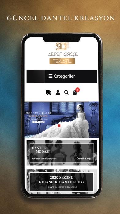 Sedef Gökçe Tekstil screenshot 1