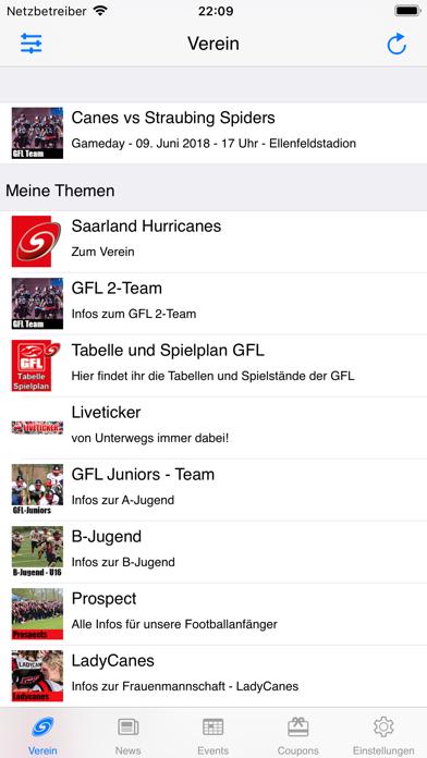 Screenshot #2 pour Saarland Hurricanes