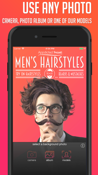 Mens Hairstyles review screenshots