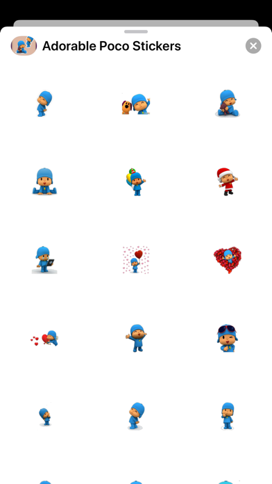 New Adorable Yo Poco Stickers Screenshot