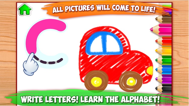 ABC Games - Drawing for Kids screenshot-0