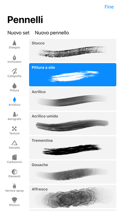 Screenshot for Procreate Pocket in Italy App Store