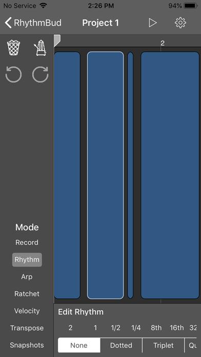 RhythmBud - AUv3 MIDI FX screenshot 2