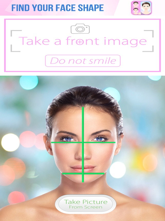Surprising Find Your Face Shape On The App Store Schematic Wiring Diagrams Amerangerunnerswayorg