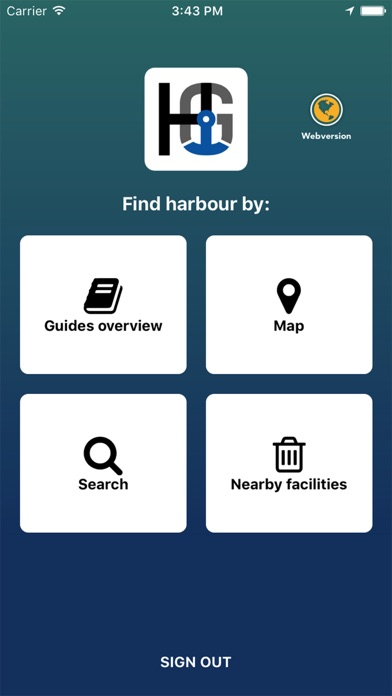 Harbour Guide screenshot one
