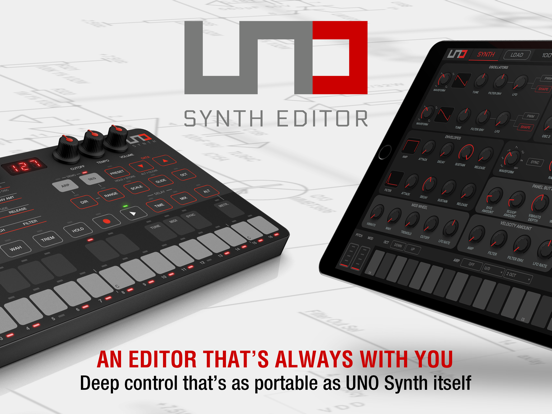 UNO Synth Editor screenshot 6