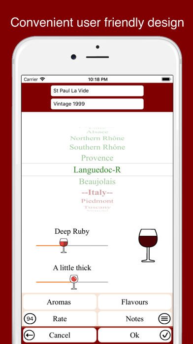 Screenshot for Rate your wine in Azerbaijan App Store