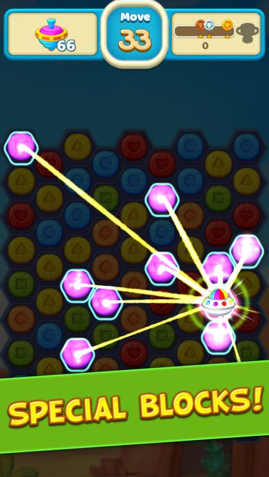 Toy Party: Match 3 Hexa Blast! screenshot 2