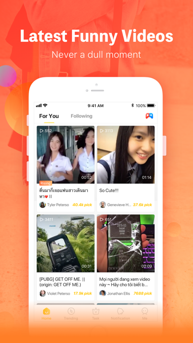 Top 10 Apps like TikTok - Make Your Day in 2019 for iPhone