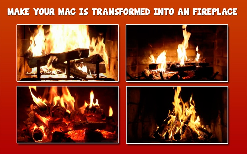 Fireplace 4K for Mac
