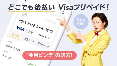 バンドルカード:誰でも作れるVisaプリペイドカードアプリ ScreenShot0