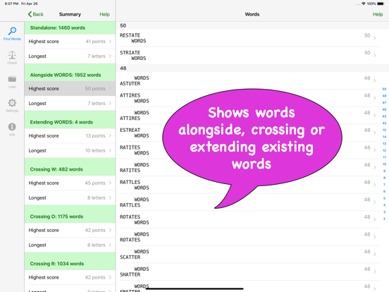 Word Finder - wordhelper org   App Price Drops
