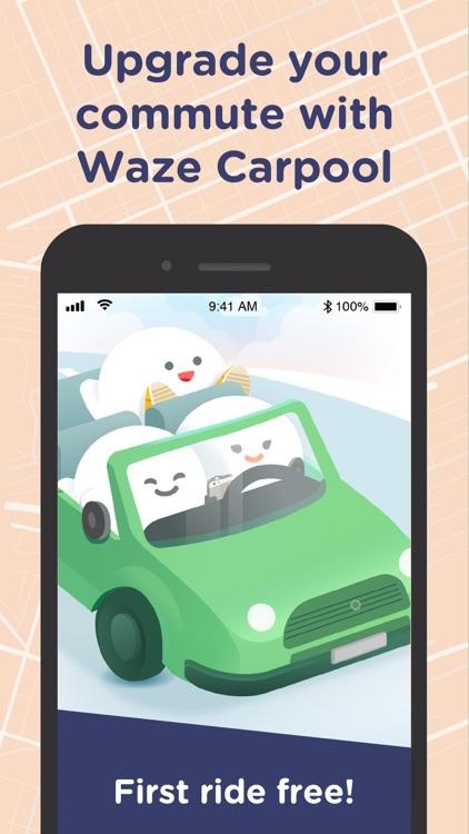 Waze Carpool screenshot-4