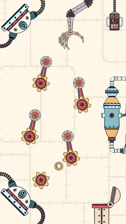 Steampunk Puzzle Physics Game screenshot-4