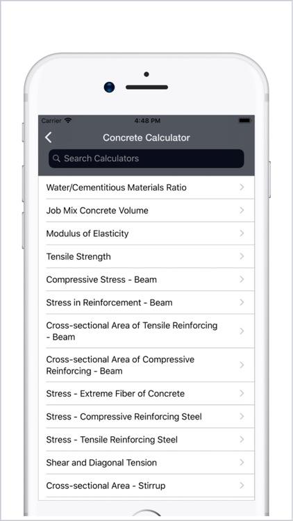 Civil Engineering Calculators screenshot-7