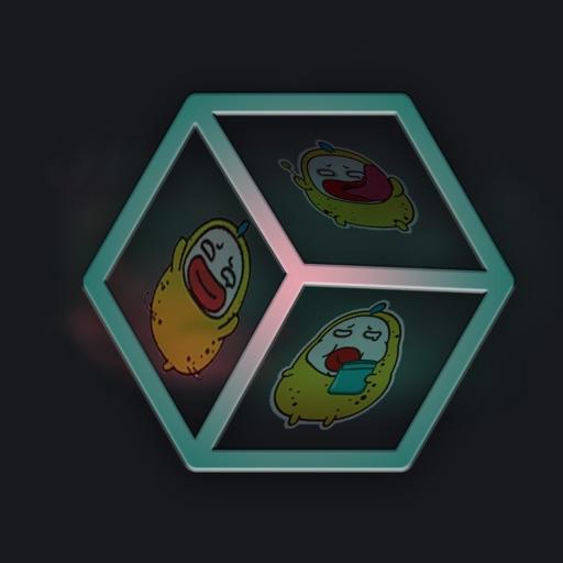 Happy Cube - Emoji