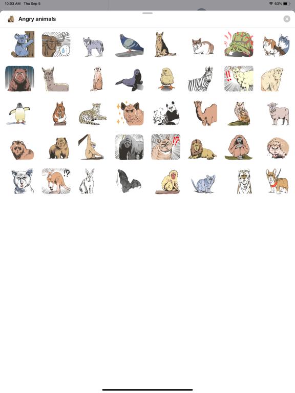 Angry - animals screenshot 4