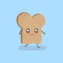 Kawaii Cute Toast