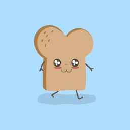 Kawaii Cute Toast