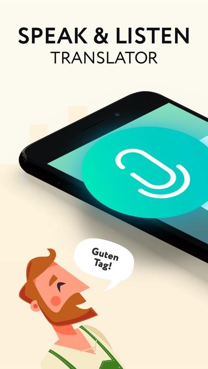 Speak & Listen Translator app screenshot-0