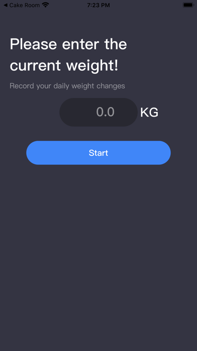 Daily Weight Record