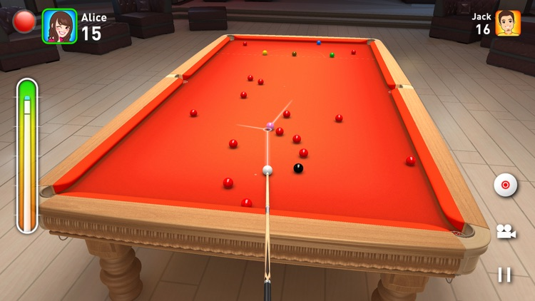 Real Snooker 3D screenshot-3