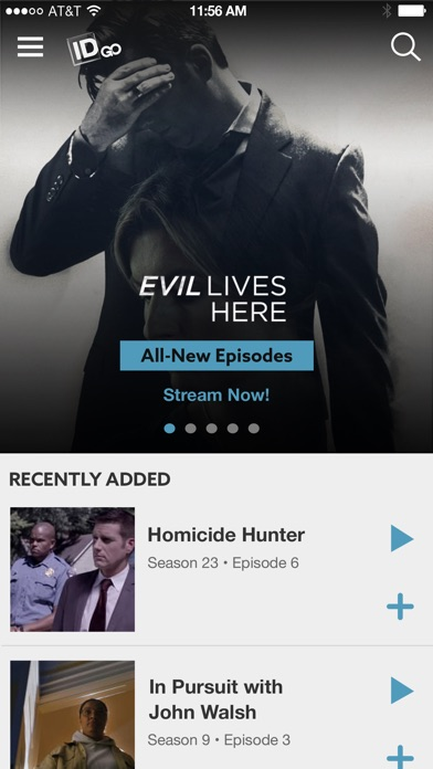 Investigation Discovery GO App Data & Review - Entertainment