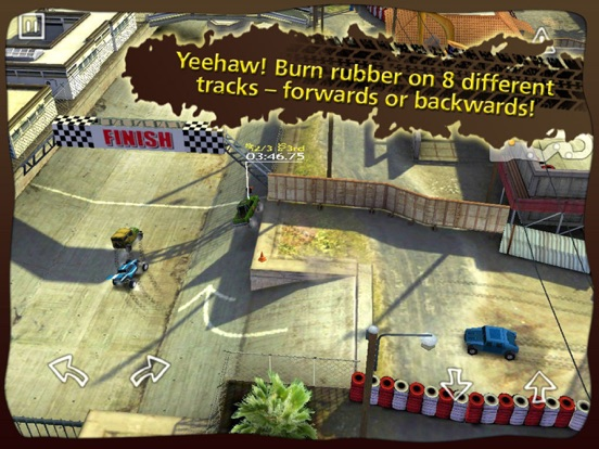 Игра Reckless Racing HD