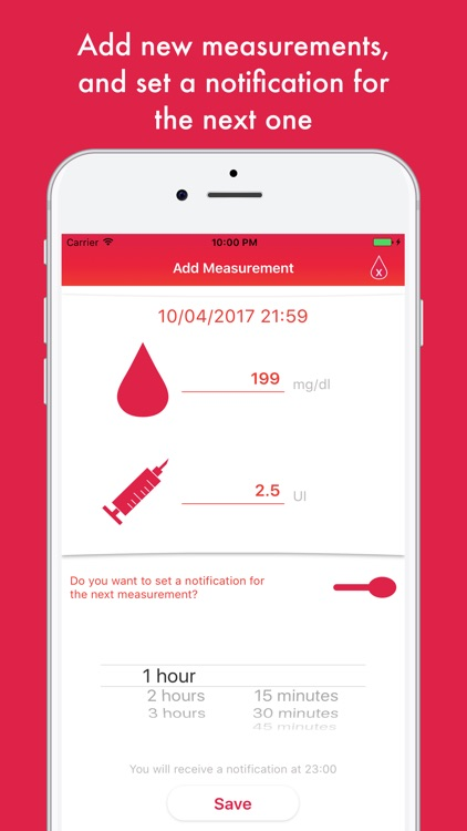 Glycemic Diary: Manage Diabete