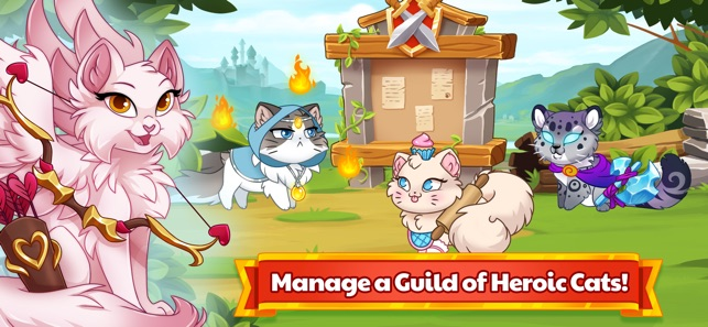 Castle Cats Idle Hero Rpg On The App Store