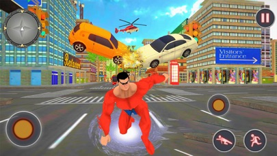 Flying Superman Rescue Mission Screenshot on iOS
