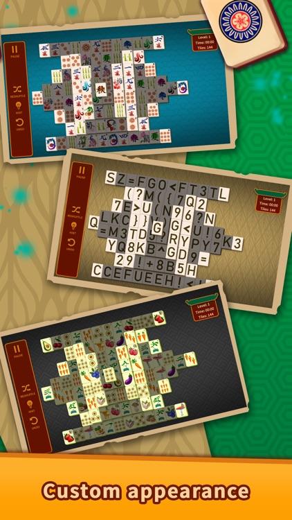 Mahjong Solitaire Puzzles screenshot-5
