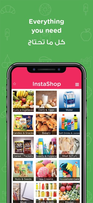 InstaShop: Grocery delivery on the App Store