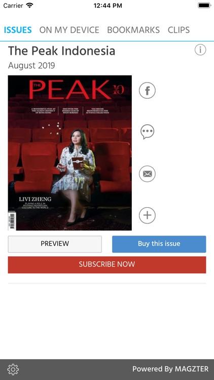 The Peak Indonesia Magazine