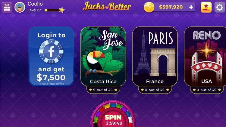 Jacks or Better : Video Poker screenshot-3