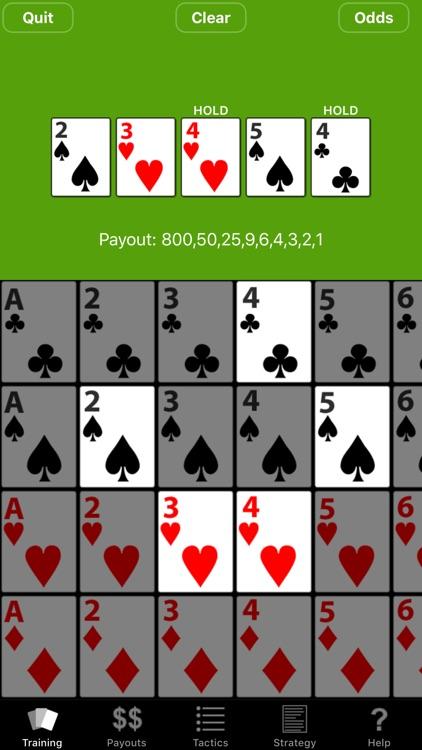 Video Poker Trainer screenshot-4