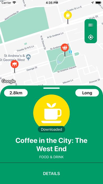 Hidden Trax - City Guide screenshot two