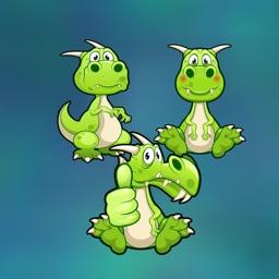 Dinosaur world stickers